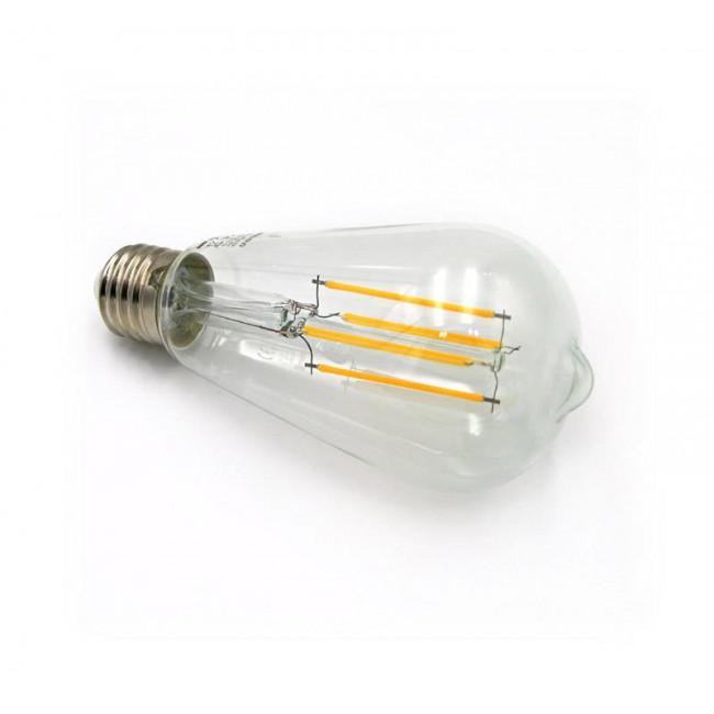 Λάμπα LED Αβοκάντο ST64 6W E27 2800k COG 230V Φ64