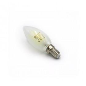 Λάμπα LED Κερί 6W E14 4000Κ Ματ COG 230V LUMEN