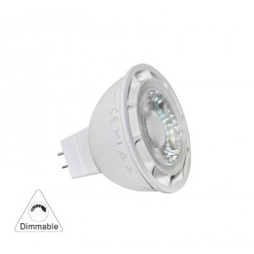 Λάμπα LED MR16 7W GU5,3 6200k 12VAC/DC 30° Dimmable LUMEN