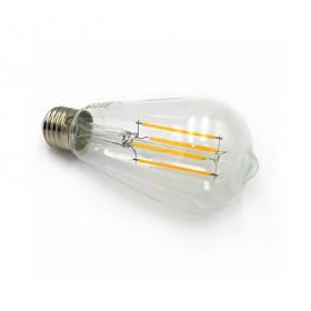Λάμπα LED Αβοκάντο ST64 8W E27 2800k COG 230V Φ64