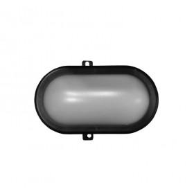 Φωτιστικό Χελώνα LED 10W 4000k 230V IP54 Οβάλ Μαύρη