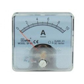 Αμπερόμετρο Πόρτας Πίνακος 60X60mm DC 0-60A SF-60 SFIM