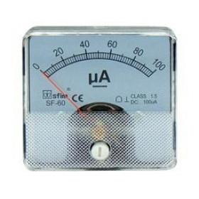 Αμπερόμετρο Πόρτας Πίνακος 60X60mm DC 0-20A SHUNT SF-60 SFIM