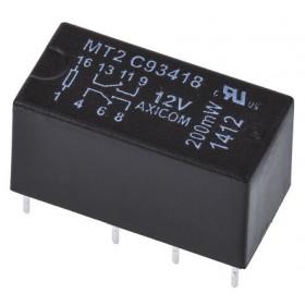 Ρελέ Μινιατούρας 2P 12V DC 1.25A C93418 SCHRACK
