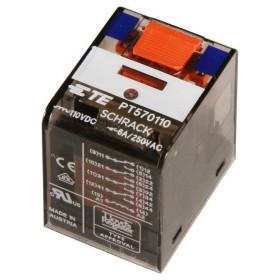 Ρελέ Μεσαίο 4P 24V AC 6A Solder PT570524 SCHRACK