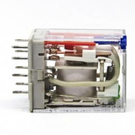 Ρελέ Μεσαίο 4P 115V AC 5A PCB RMIB45115AC CARLO GAVAZZI