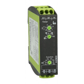 Χρονικό 8 Λειτουργιών 1-100h 12-240VAC/DC G2ZM20 TLH