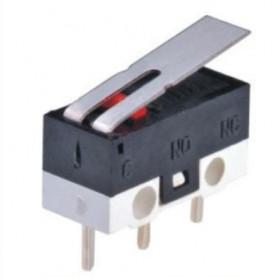 Μικροδιακόπτης Με Λαμάκι Mini KW10-3Z