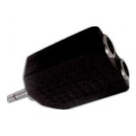 Adaptor 3.5mm² Mono Σε 2X6.3mm² Stereo Θηλυκό AU1515 UNI