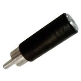 RCA Adaptor Πλαστικό Αρσενικό Σε 3.5mm² Mono Θηλυκό EA2041 LNC