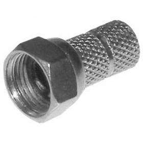 F Αρσενικό Twist On RG6 HLB3004C L:18mm JT-1009C (HLB3004C) JKG