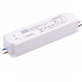 Τροφοδοτικό 60W Με Έξοδο 24VDC 2.5A IP67 LPV60-24 MEAN WELL