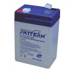 Μπαταρία Μολύβδου Κλειστού Τύπου 6V 4.5Ah PT4.5-6 PATTERN