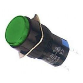 Ενδεικτική Λυχνία Φ16 Πράσινη Neon 230VAC SDL16-AXD XINDALI