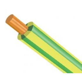 Καλώδιο Σιλικόνης SIAF 1x2.50mm² Πράσινο - Κίτρινο