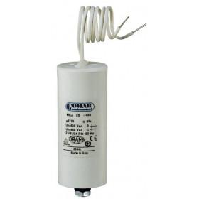 Πυκνωτής Μονίμου Λειτουργίας 4 μF 450V Με Καλώδιο COMAR