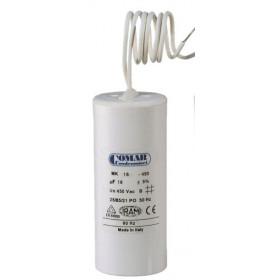 Πυκνωτής Μονίμου Λειτουργίας 5 μF 450V Με Καλώδιο COMAR