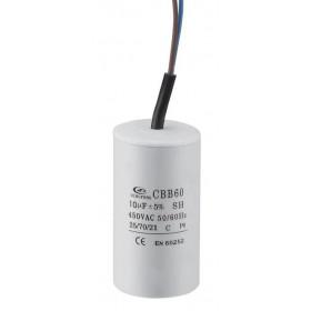 Πυκνωτής Μονίμου Λειτουργίας 14μF 450V Με Καλώδιο CBB60-K