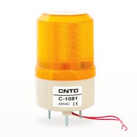 Φάρος LED Flashing C-1081 230VAC Κίτρινος CNTD