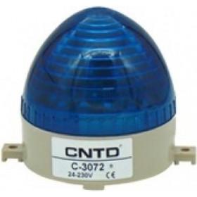 Φάρος LED Strobe C-3072 230VAC Μπλε CNTD
