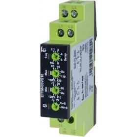 Επιτηρητής Δικτύου Τριφασικός Για Διαδοχή/Απώλεια/Υπόταση E1YM400VS10 TELE