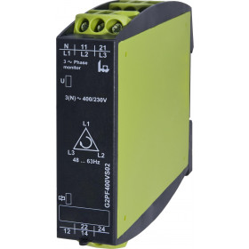 Επιτηρητής Δικτύου Τριφασικός Για Διαδοχή/Απώλεια G2PF400VS02 TELE