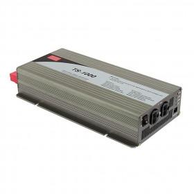 Inverter Καθαρού Ημιτόνου 1000W Και Είσοδο 12VDC TS1000-212B MEAN WELL