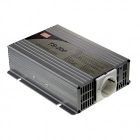 Inverter Καθαρού Ημιτόνου 200W Και Είσοδο 24VDC TS200-224B MEAN WELL