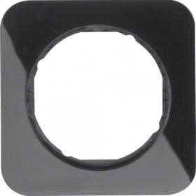 Πλαίσιο 1 Θέσης Μαύρο R.1 BERKER