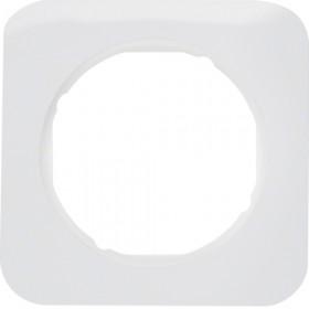 Πλαίσιο 1 Θέσης Λευκό R.1 BERKER