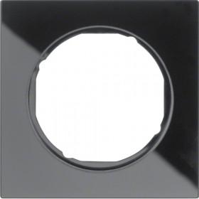 Πλαίσιο 1 Θέσης Μαύρο Γυαλί R.3 BERKER