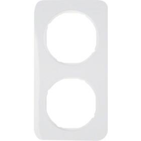 Πλαίσιο 2 Θέσεων Λευκό R.1 BERKER