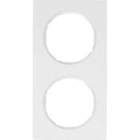 Πλαίσιο 2 Θέσεων Λευκό R.3 BERKER
