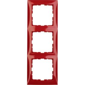 Πλαίσιο 3 Θέσεων Κόκκινο S.1 BERKER