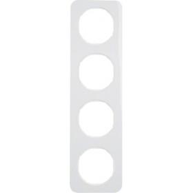 Πλαίσιο 4 Θέσεων Λευκό R.1 BERKER