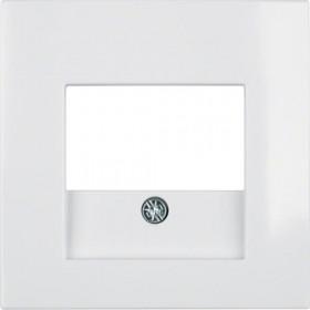 Μετώπη Πρίζας Ηχείων Ή USB Λευκό S.1/B.x BERKER