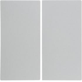 Μετώπη 2 Πλήκτρων Λευκό Ματ S.1/B.x BERKER