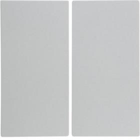 Μετώπη 2 Πλήκτρων Λευκό S.1/B.x BERKER