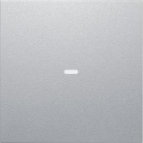 Μετώπη Μπουτόν KNX 1 Πλήκτρου Φωτισμού Αλουμίνιο S.1/Bx