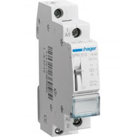 Ρελέ Καστάνιας 1P 1NO 24VAC/12VDC HAGER