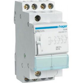 Ρελέ Καστάνιας 4P 2NO+2NC 230VAC/110VDC HAGER