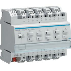 Ενεργοποιητής Ράγας Φωτισμού easy KNX 10 Εξόδων TXA610B