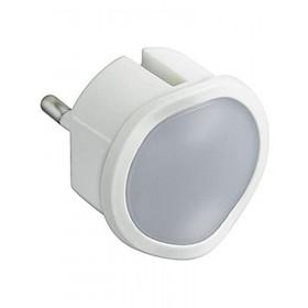 Φωτιστικό Νυχτός LED Πρίζας Με Διακόπτη
