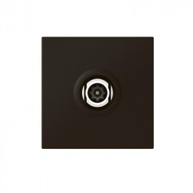 Πρίζα TV/SAT Αστέρας 2 Στοιχείων Μαύρο 079182L Mosaic™