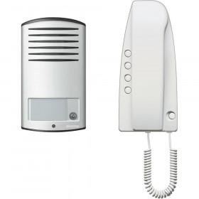 KIT Θυροτηλεφώνου SPRINT 1 Διαμερίσματος Με Μπουτονιέρα LINEA2000