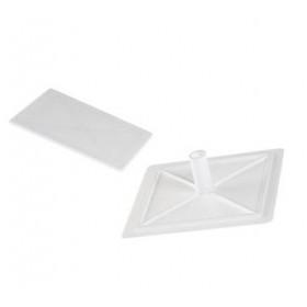 Καπάκι Κουτιού Διακλάδωσης 75Χ75mm Λευκό ΚΑΣΣΙΝΑΚΗΣ