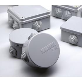 Κουτί Διακλάδωσης Επίτοιχο 80Χ80X40mm IP65 ΚΑΣΣΙΝΑΚΗΣ