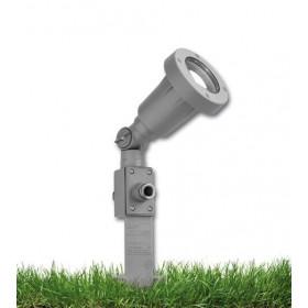 Σποτ Κήπου LED MULTICOLOR Με Καρφί Γκρί VIOKAR