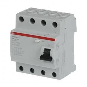Ρελέ Διαρροής AC 4P 63A 30mA FH204AC-63/0,03