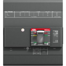 Αυτόματος Διακόπτης Ισχύος 4P 200A 36kA XT3N250R200